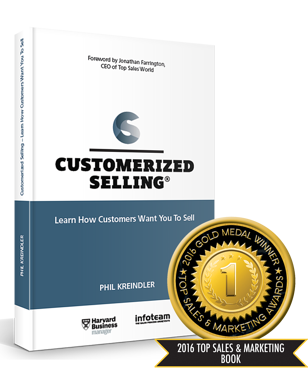 Customerized Selling - 2016 Top Sales and Marketing Book
